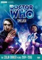 Doctor Who Timelast DVD Cover Art