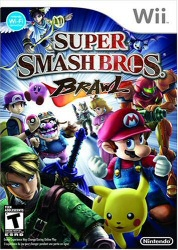 Super Smash Bros Brawl cover art