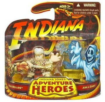 Indiana Jones Adventure Heroes: Belloq, Ark and Ghost