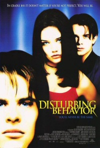 Disturbing Behavior movie poster