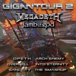 Megadeth's Gigantour 2