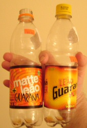 Matte Leão + Guarana and Leão Guarana Power