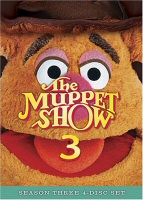 The Muppet Show Season 3 DVD Cover Art