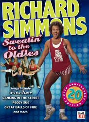 Sweatin\' to the Oldies 20th Anniversary Edition DVD Cover Art