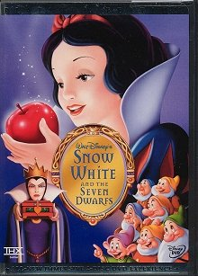 Snow White and the Seven Dwarfs DVD cover art