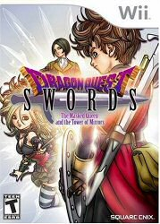 Dragon Quest Swords Wii Cover Art