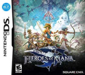 Heroes of Mana Nintendo DS Cover Art