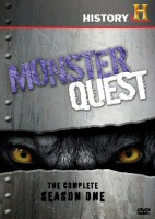 Monster Quest: The Complete Season One DVD cover art