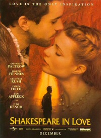 Shakespeare in Love poster art