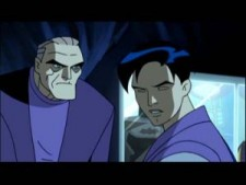 Bruce Wayne and Terry McGinnis from Return of the Joker