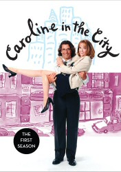Caroline in the City Season One DVD Cover Art