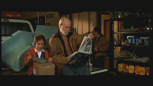 Raquel Castro and George Carlin from Jersey Girl