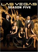 Las Vegas Season Five DVD Cover Art