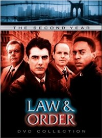 Law and Order: The Second Year DVD cover art