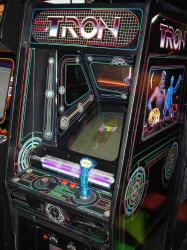 TRON arcade game