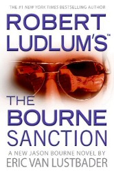 The Bourne Sanction book cover art