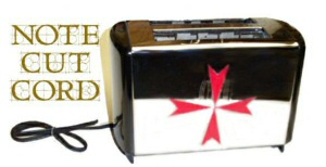 Knights Templar Toaster by Marc Luscher