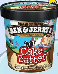 Ben and Jerry's Cake Batter Ice Cream