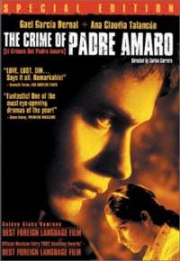 crime of padre amaro dvd cover