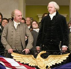 David Morse as George Washington in John Adams