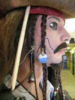 Jack Sparrow replica