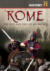 Rome: The Rise and Fall of an Empire DVD cover art