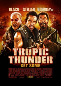 Tropic Thunder movie poster art