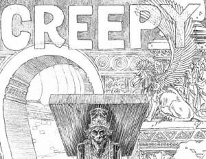 Creepy cover sketch