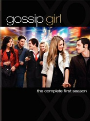 Gossip Girl: The Complete First Season DVD cover art