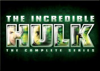 Incredible Hulk: Complete Series DVD cover art