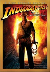 Indiana Jones and the Kingdom of the Crystal Skull DVD cover art