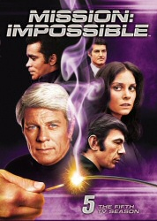 Mission: Impossible Season 5 DVD cover art