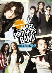 Naked Brothers Band Season 2 DVD cover art