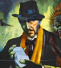 Peter Cushing from Dr. Terror's House of Horrors