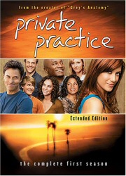 Private Practice: The Complete First Season DVD cover art