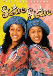 Sister Sister: The First Season DVD cover art