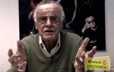 Stan Lee reading The Raven