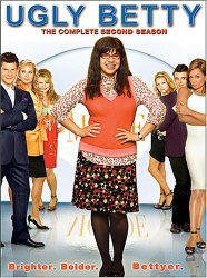 Ugly Betty The Complete Second Season DVD cover art