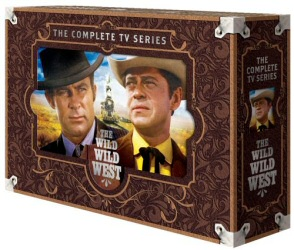 Wild Wild West: The Complete Series DVD cover art