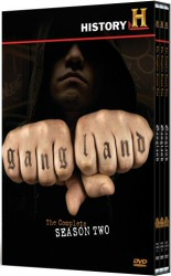 Gangland: The Complete Season Two DVD cover art