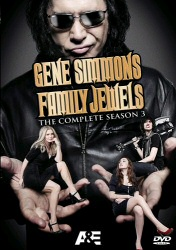 Gene Simmons: Family Jewels: The Complete Season 3 DVD cover art