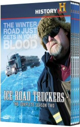 Ice Road Truckers Season 2 DVD cover art