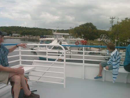 Key Largo: Leaving the Dock