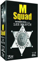 M Squad: The Complete Series DVD cover art
