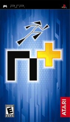 N+ for the PSP game cover art
