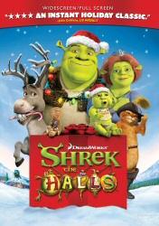 Shrek the Halls DVD cover art