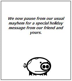 Orvil's Thanksgiving message