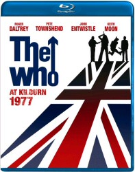 The Who at Kilburn 1977 Blu-Ray cover art