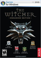 The Witcher: Enhanced Edition game cover art