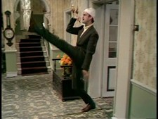 John Cleese as Basil Fawlty from Fawlty Towers